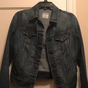 Old Navy Denim Jean Jacket size Small